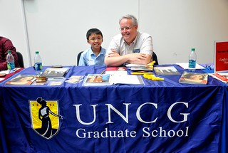 UNCG recruiters at Idealist Grad Fair | by juliacsmith