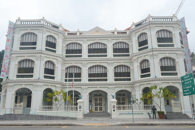 singapore's museum district penarakan museum