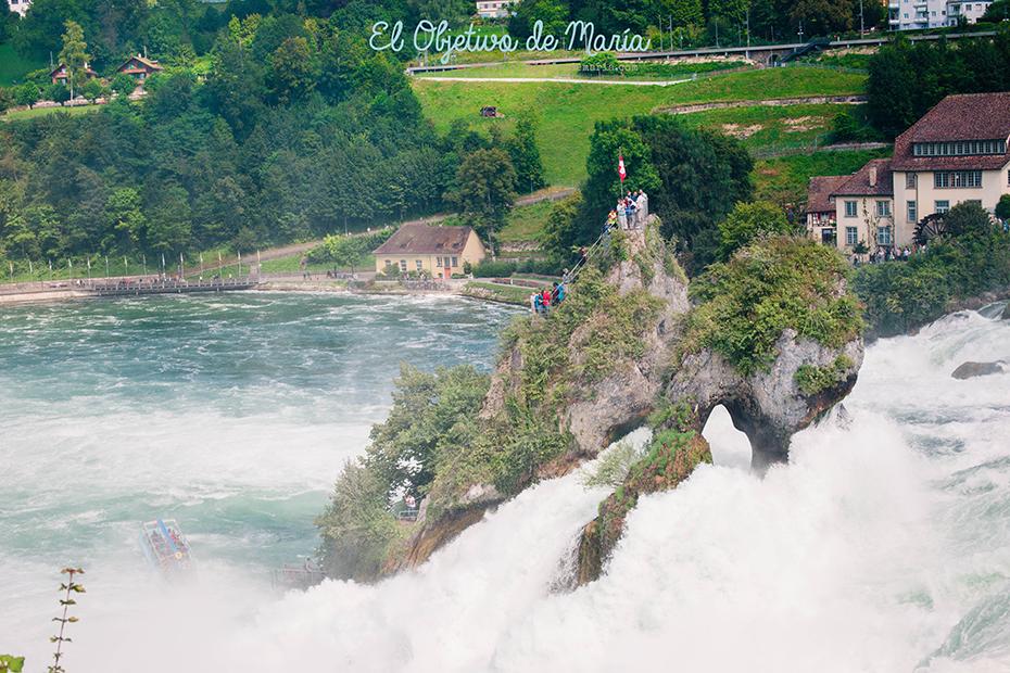 Vistas cataratas del Rhin