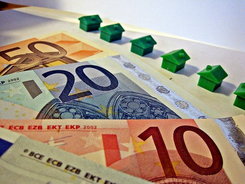Euro Notes and Houses | by Images_of_Money