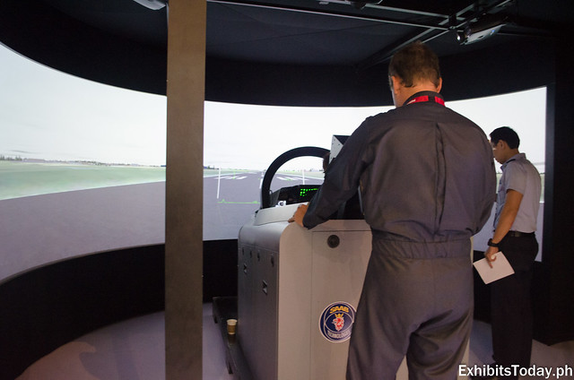 Gripen Cockpit Simulator