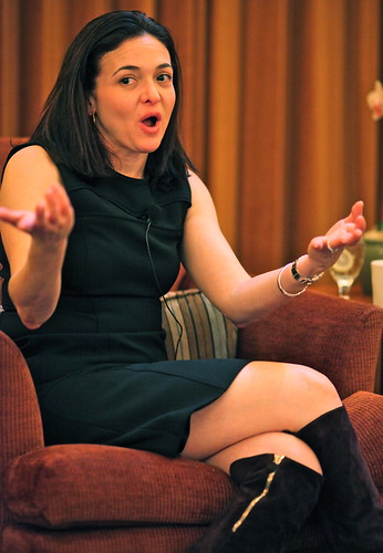 Sheryl Sandberg, COO of Facebook | by jurvetson