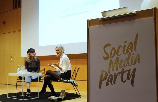Josefin&Vanja på Social Media Party