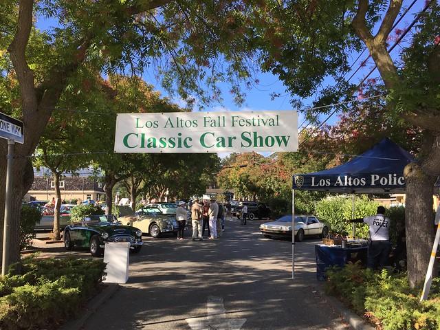 Los Altos Fall Festival Classic Car Show