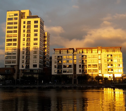 Dublino: golden hour