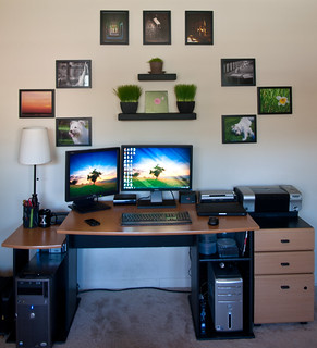 Home Office Setup | by zachgeek