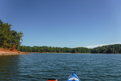Paddling to Ghost Island in Lake Hartwell-70