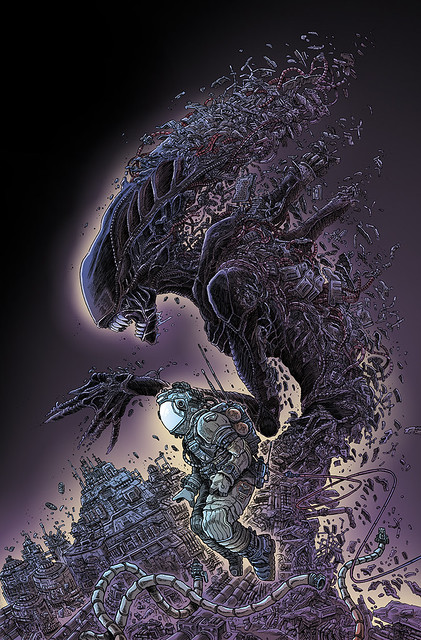 "DARK HORSE AND FOX PUT THE ""ALIEN"" IN ALIEN DAY"