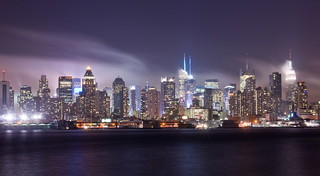Mid Manhattan in clouds | by Lydia2222