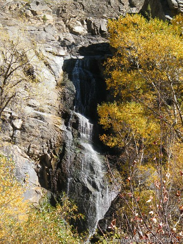 Bridal Veil Falls near Spearfish, South Dakota