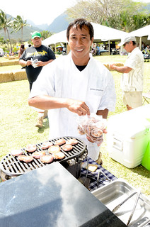 Chef James Simpliciano at #MauiAgFest | by Slow Food Maui