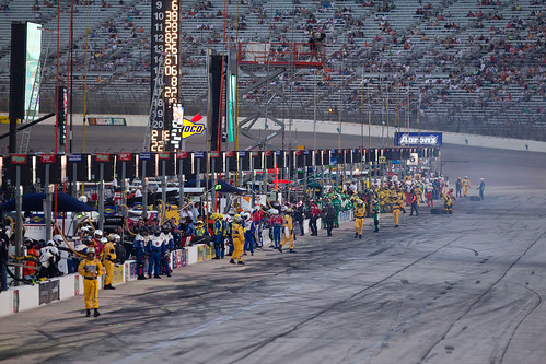 Pit Row at Texas Motor Speedway | by Scouting Magazine