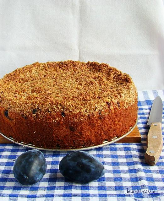 сливовый пирог с кардамоном 1