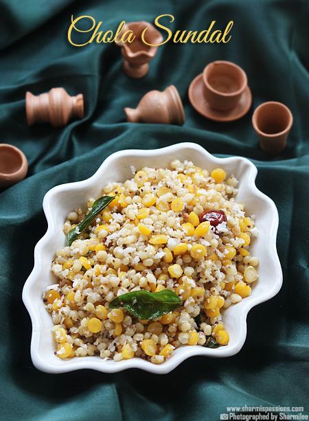 Chola Sundal Recipe