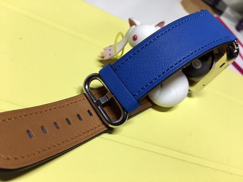 Apple Watch クラシックバックル(シーブルー)