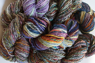 April Pound of Fiber: Yarn School Orphans | by QueenieVonSugarpants