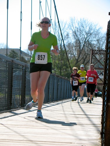 Save Our Swinging Bridge footrace | by Jay Collier