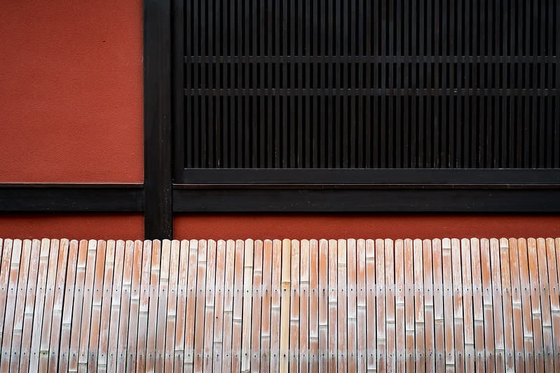 Geometric pattern of Kyoto