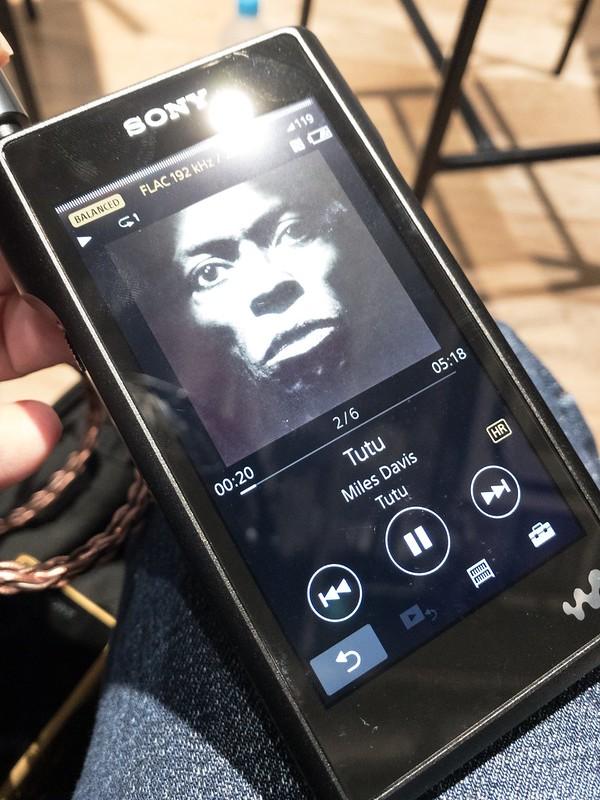 【ソニーフラッグシップモデル ブロガー限定先行体験会】SONY WalkMan NW-WM1A
