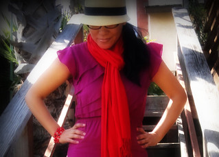 Color Block Outfit | by Salon de Maria