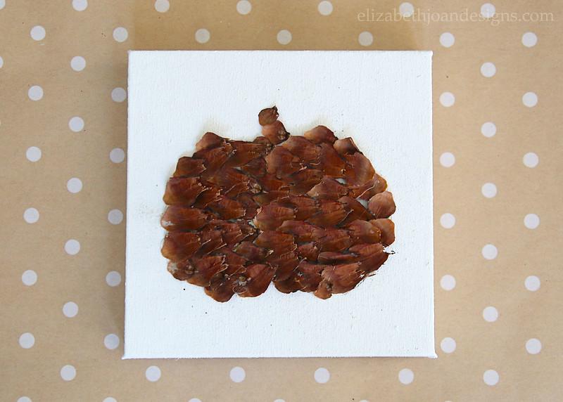 Canvas Pumpkin Texture
