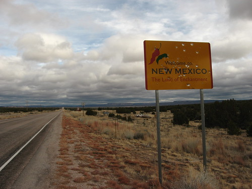 Welcome to New Mexico, State Route 53 Eastbound | by Ken Lund