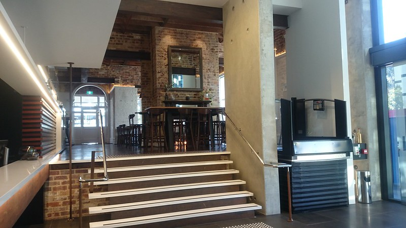 Sage Hotel Perth Review (reception)