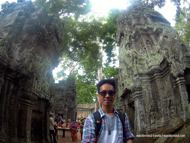 Selfie at Ta Phrom Siem Reap