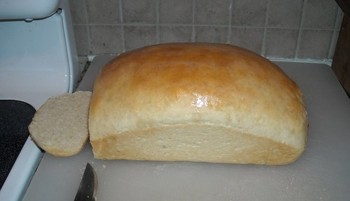first loaf of bread mixed with my new kitchenaid | by vickivictoria