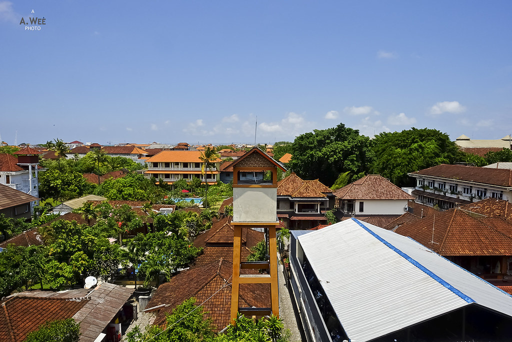 Kuta surrounding view