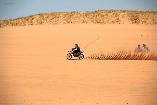 sand drag racing