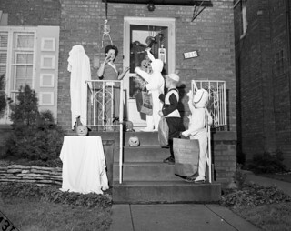 Neighborhood Halloween Party, Chicago 1959 | by fluffy chetworth