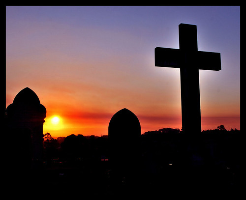 A grave sunset | by phunnyfotos