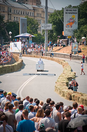Red Bull Soap Box Car Race Bergen  Injury