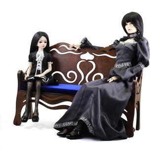 "Sofa  ""Fairy tale"" & Mayi(msd) &Elise (sd)"