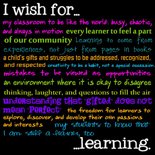 I wish for.... | by venspired