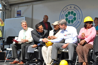 Van White Memorial Bridge Groundbreaking | by Rep. Keith Ellison