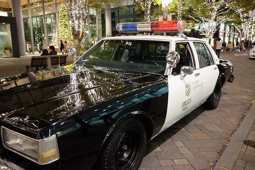 US Police car in Marunouchi