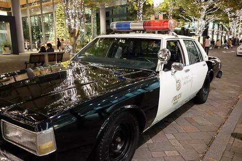 US Police car in Marunouchi