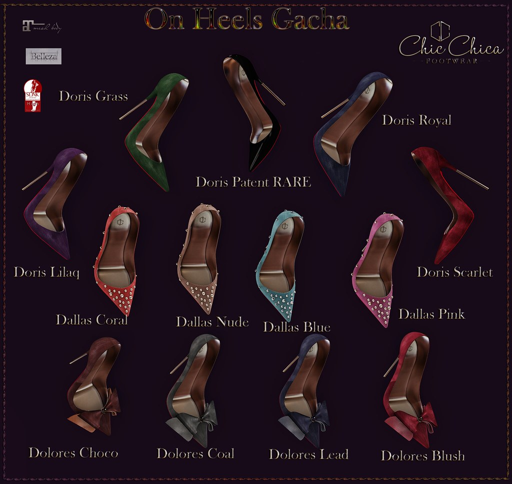 On Heels Gacha by ChicChica for TGG is OUT