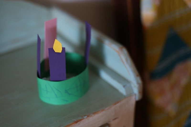 L's Advent wreath from RE