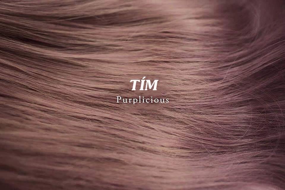 Mầu tóc tím