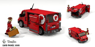 Renault Trafic LWB - Australia Post Delivery Van