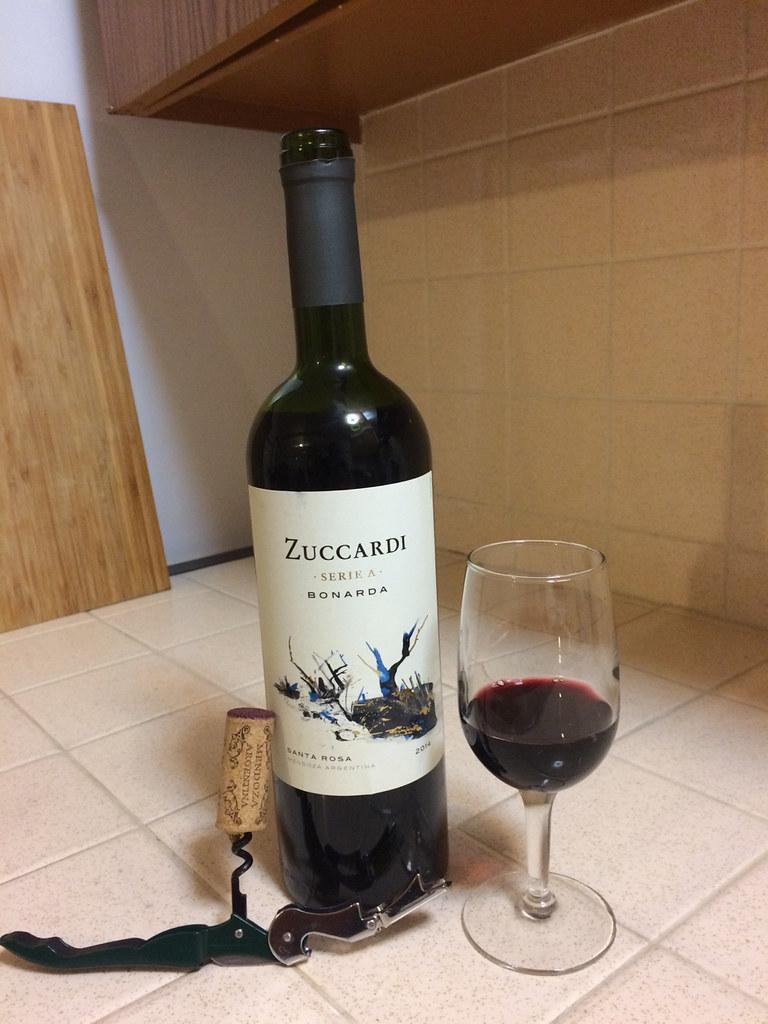 Zuccardi Bonarda wine