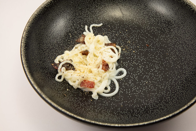 Spaghetti Carbonara Dessert