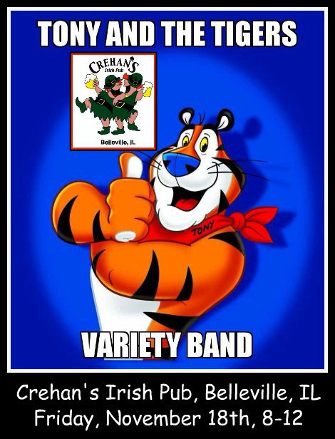 Tony And The Tigers 11-18-16