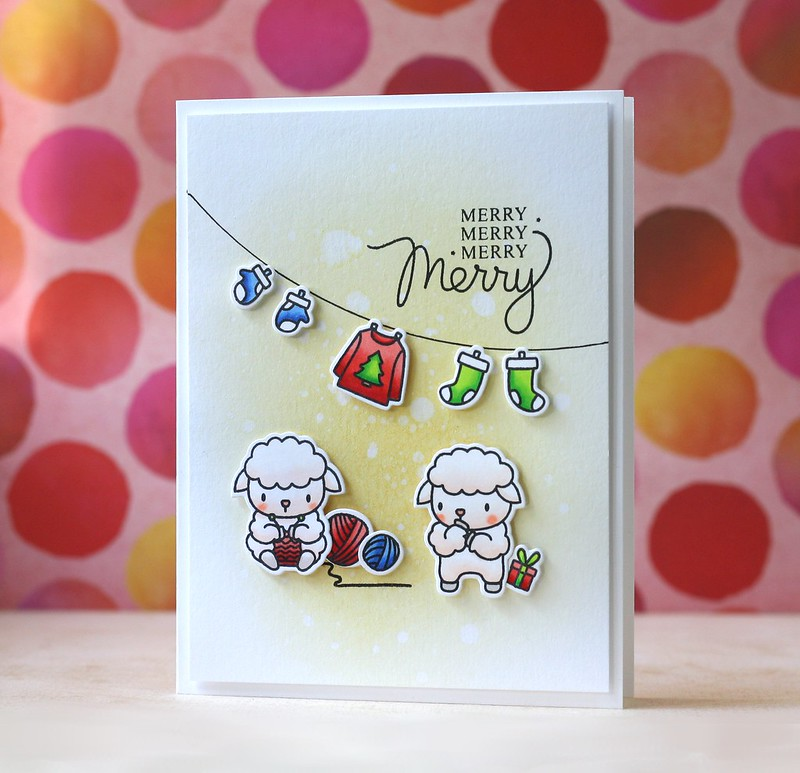 Mama Elephant-Wooly Winter