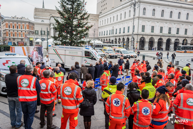 Inaugurazione mezzi Protezione Civile