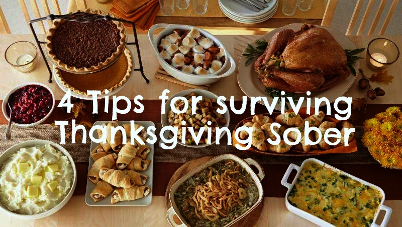 4 Tips on surviving Thanksgiving sober thumbnail