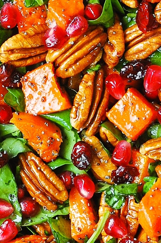 Thanksgiving salad, Thanksgiving side dish, Thanksgiving recipes, best salads, easy salads, healthy Thanksgiving salads, healthy holiday salads